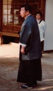 Saito Sensei with his wife 1980