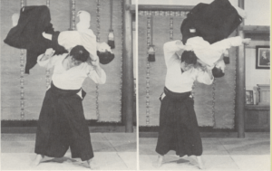 Meaning of ukemi throwing down