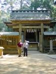 32 Takayasu Sensei with Derek Sensei, Kashima Shrine.jpg